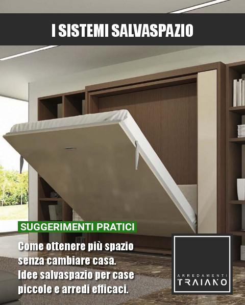 Avere una grande casa a disposizione per modificare e. Guida Ai Sistemi Salvaspazio Come Ottenere Piu Spazio Senza Cambiare Casa Arredamenti Traiano