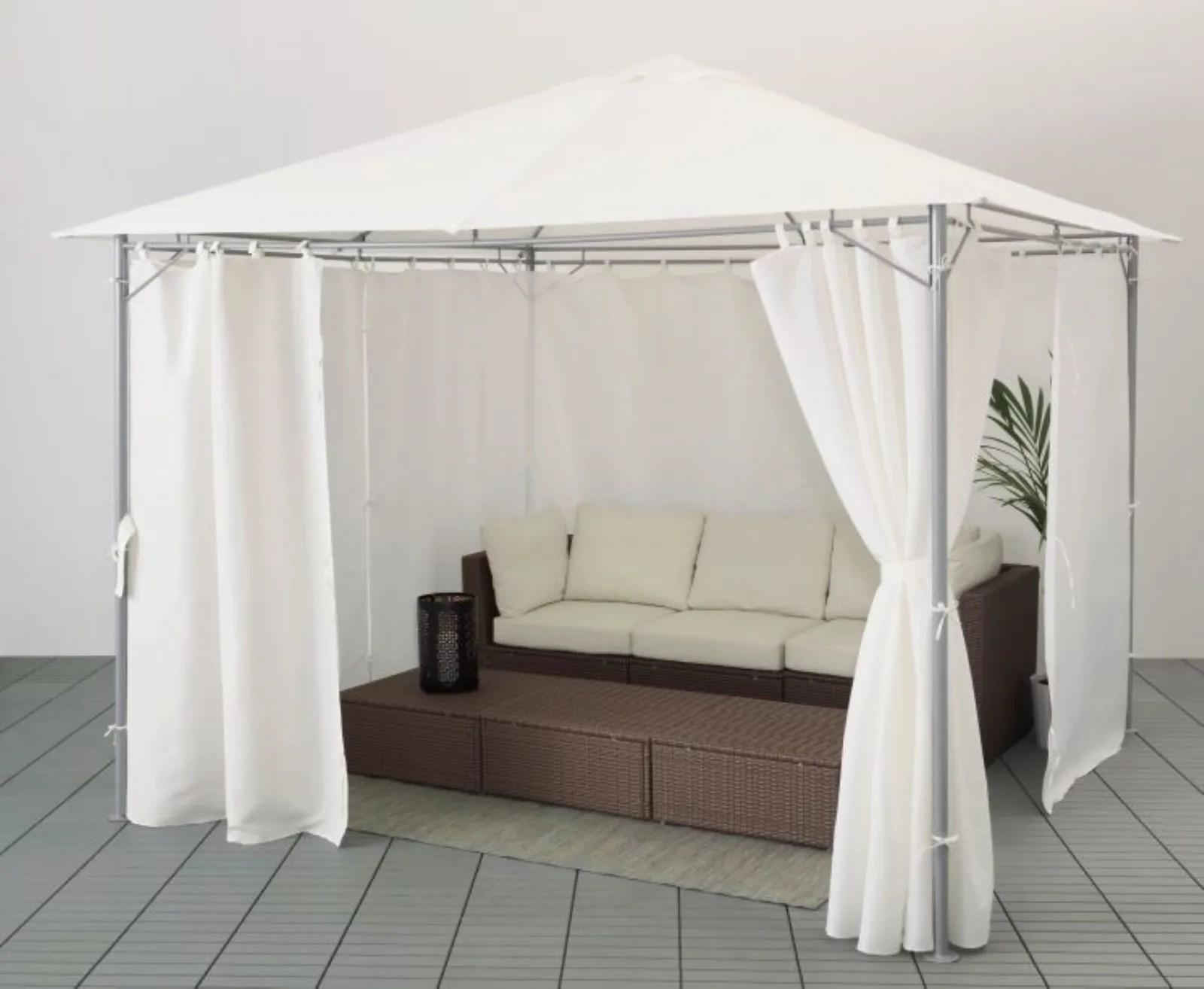 Grazie a questa possibilità, le tende parasole di ikea possono essere utilizzate in vario modo, per ogni problematica. Gazebo Ikea Outdoor Moderno
