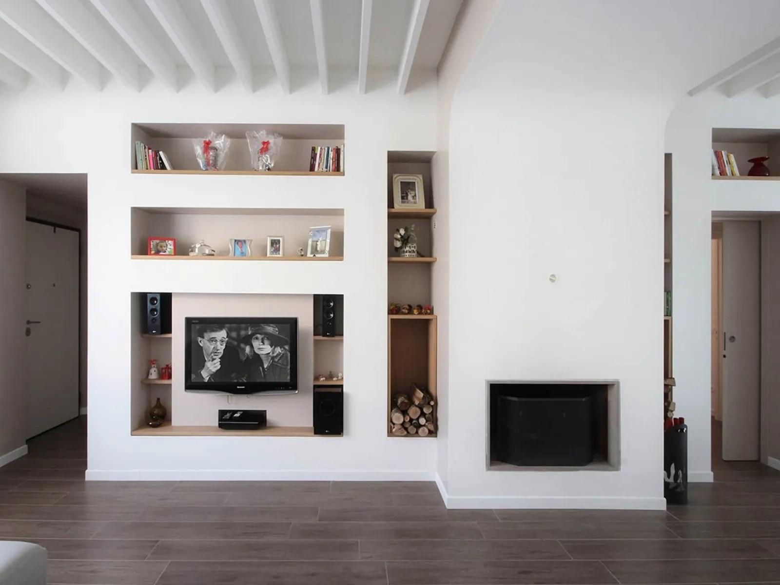 3) librerie e pareti attrezzate in cartongesso. Ispirazioni E Consigli Su Come Utilizzare Le Pareti Attrezzate In Cartongesso