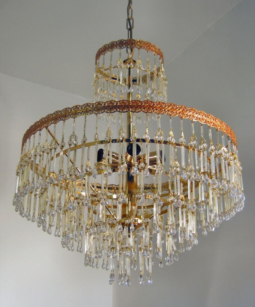 lampadari moderni scelte di design per l'illuminazione d'interni. Lampadari Soggiorno Classico Oro Argento Cristallo