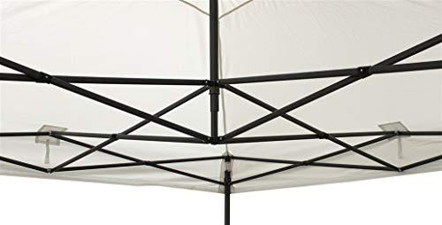AllSeasonsGazebos Tutte le stagioni Finestrati, 3x 3m Heavy Duty, completamente impermeabile pop up gazebo con gamba pesi
