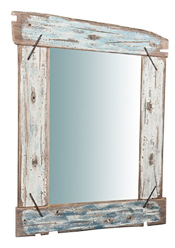 Biscottini Specchio da Parete in Legno massello L65,5XPR3,5XH86 cm