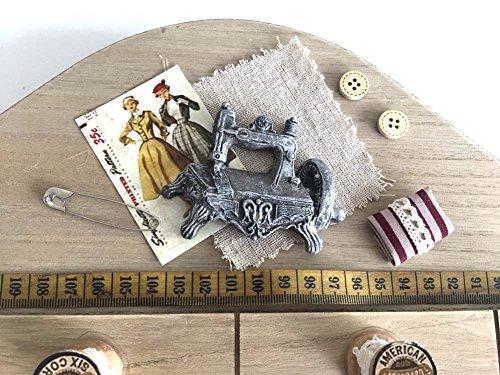 Charming House Appendiabiti da Parete in Stile Shabby Chic, Cucito in Legno Chiavi Ganci Appendiabiti Rustico Country Home # 2