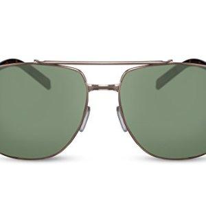 Cheapass Occhiali da Sole da Pilota UV400 Metallo da uomo e donna