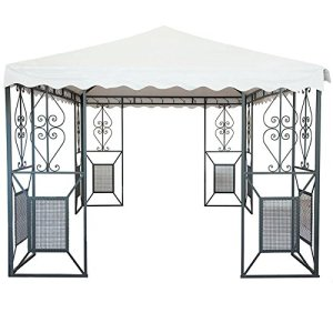 LINEA GIARDINO 'FRIENDLY' GAZEBO 3X3 IN FERRO BATTUTO