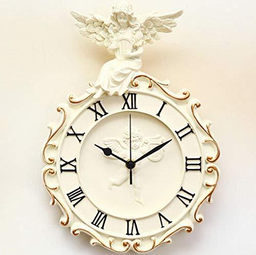 Orologio da Parete Angelo Retro personalità Orologio Country Art Design Moderno Shabby Chic @ Boy_Small