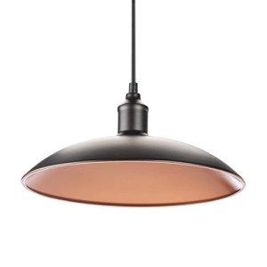 Smartwares Lampada a Sospensione Stile Industriale E27 60 W Nero 32 x 32 x 8 cm