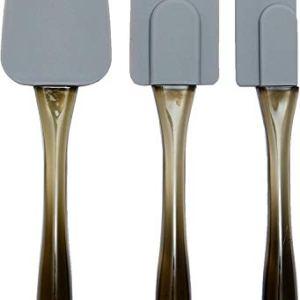 AmazonBasics  Spatole in silicone set da 3 pezzi