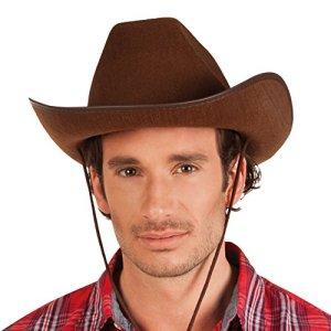 Boland 04097  Cowboy Cappello Feltro Marrone