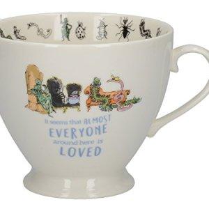 Creative Tops Roald Dahl Footed China Mug con illustrazione di Quentin Blake Bfg porcellana biancomulticolore 135 x 105 x 85 cm Porcellana bianco 14 x 11 x 95 cm