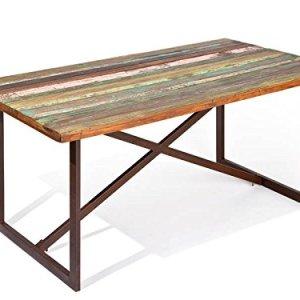 Esidra Chicago Heights Tavolo Legno Marrone 160x90x75 cm rettangolare