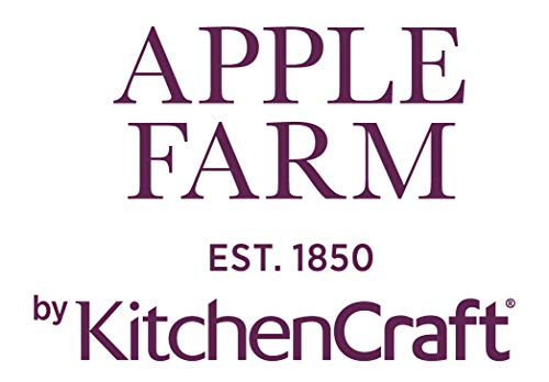 Kitchen Craft Apple Farm rifinita a Mano Ceramica Multicolore 11 x 16 x 3 cm