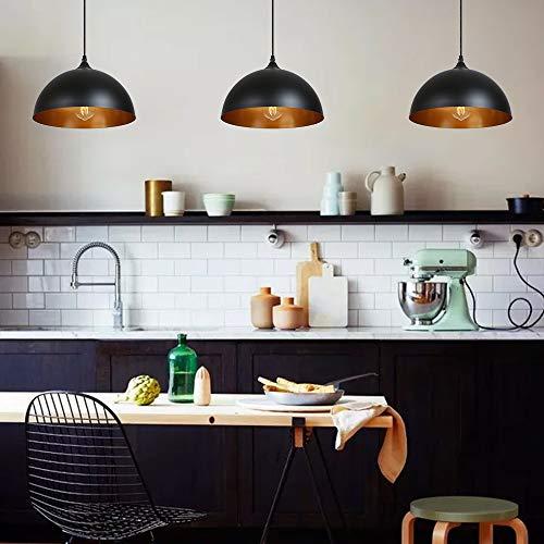Lampadari a Sospensione Vintage Industriale Tomshine Lampadario In Ferro Per Il Ristorante Dining Room Kitchen 2PCS