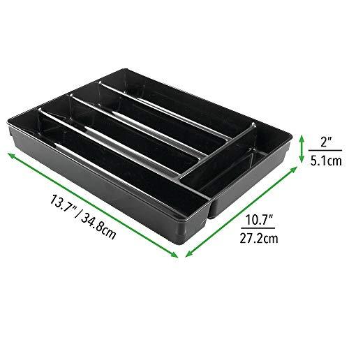 naturale matite graffette Contenitore portaoggetti per penne mDesign Organizer scrivania in bamb/ù Pratico porta oggetti a 6 scomparti per la scrivania