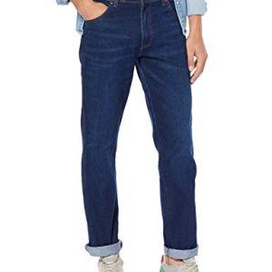 Wrangler Texas Contrast Jeans Blu Stay Warm 54s 37W  34L Uomo