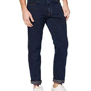 Wrangler Texas Jeans Slim Blu Cross Game 11u 36W  30L Uomo