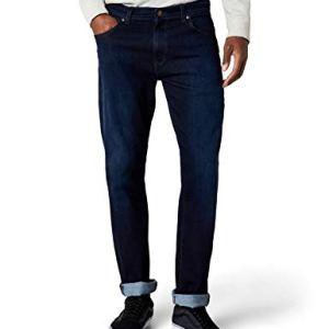 Wrangler TEXAS TONAL Jeans Uomo Blu Blue 34W  32L