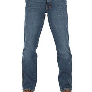 Wrangler W30W44  Jeans da Uomo Texas Stretch Regular Fit Elasticizzati Denim 99 Cotone Blu Blue Blast W121hn11y 34 W36 L