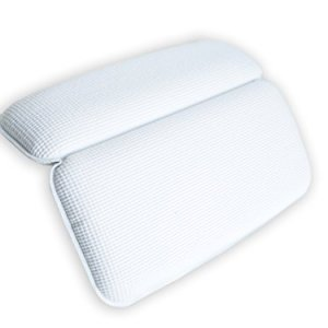 1 Cuscino Premium per Vasca da Bagno BRUMA  Cuscino Poggiatesta per Vasca da Bagno Jacuzzi Spa e Idromassaggio  Impermeabile Realizzato con Un Tessuto Morbido Resistente e Facile da Pulire
