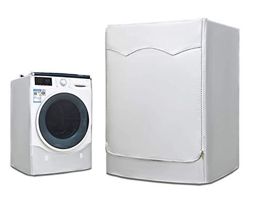 Oxford Panno coperchio di protezione Lavatrice Asciugatrice CASE SILVER Zip XL