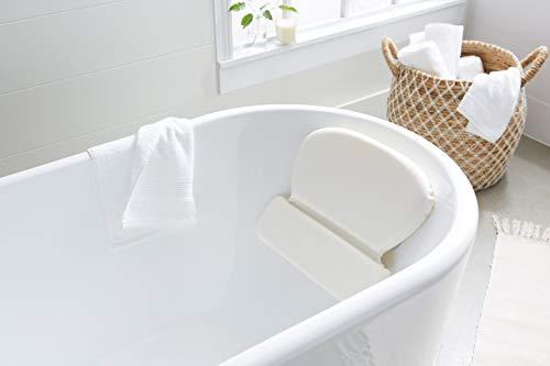 AmazonBasics  Cuscino cervicale con ventose per vasca da bagno