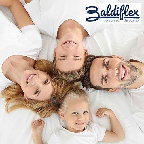 Baldiflex Easy 20 in Memory Foam Materasso Memoria Poliuretano Bianco 160x190x22cm