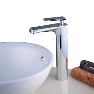 Beelee rubinetti per bagno  Ottone Chrome Alto