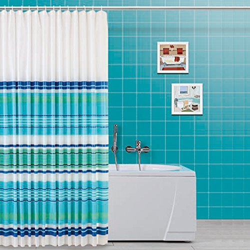 FERIDRAS 187062 Tenda Doccia Multicolore 5 x 240 x 200 cm