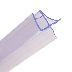 HNNHOME  Guarnizione per schermo protettivo docciavasca 870mm di lunghezza design unico per vetro di 46mm fino a 11mm di distanza