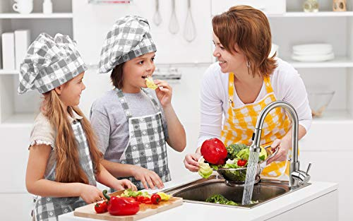 ieGeek Miscelatore Cucina con Doccetta Estraibile Girevole a 360  2 funzioni Rubinetti da cucina con Rubinetto per Cucina Doccetta