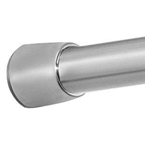 InterDesign 78570EU Asta Tenda Doccia Metallo Argento Opaco 109191 cm