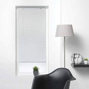 store dintrieur Tenda Veneziana a lamelle 50 x 180 cm in Alluminio Colore Bianco