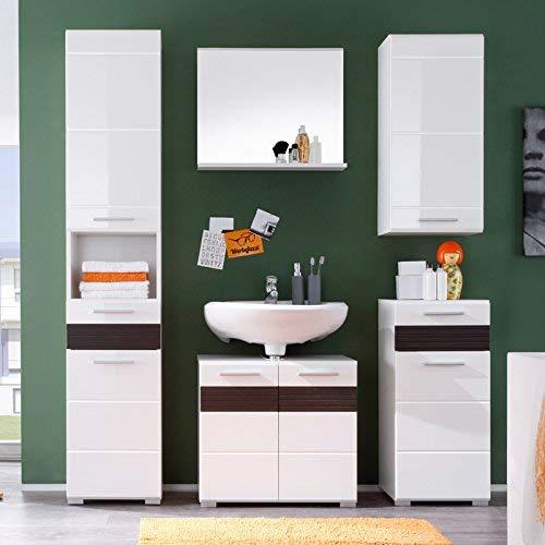 Trendteam Smart Living Mobili Metallo Bianco 60 x 50 x 10 cm