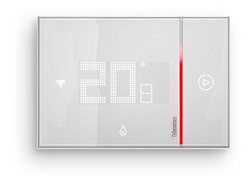 BTicino Smarther SX8000W Termostato Connesso da Muro con WiFi Integrato 5  40 C Programmazione a distanza App iOSAndroid Bianco