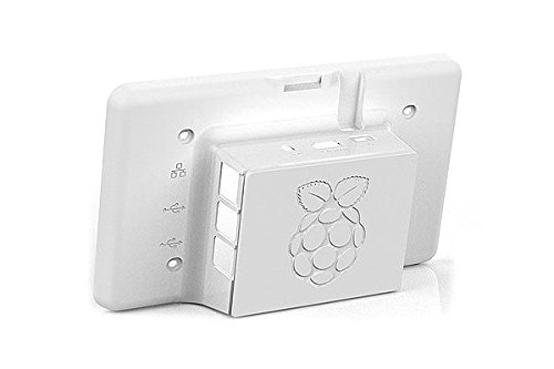 Bundle Raspberry Pi 7 Touchscreen Display  Case white