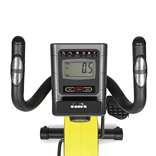 Diadora Cyclette Recumbent Galaxy Comfort con Hand Pulse