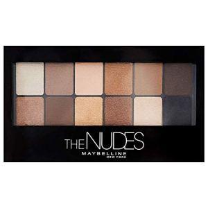 Maybelline New York The Nudes Palette Palette Ombretti 12 Colori Sulle Sfumature del Nudo Finish Mat Satinato e Perlato