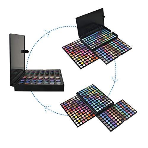 Netspower Nudo Palette Ombretti di 252 colori Occhi dellombra di Occhio della Gamma di Colori dellombra del Corredo di Trucco Make Up Box Professional Colori Shimmer Make Up Palette Nuovo