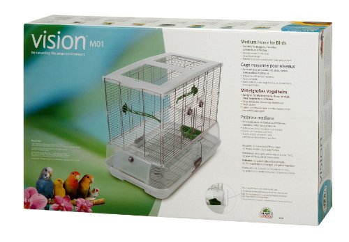 Vision GabbiaCasa per uccelli regolari 625 x 395 x 53 cm media