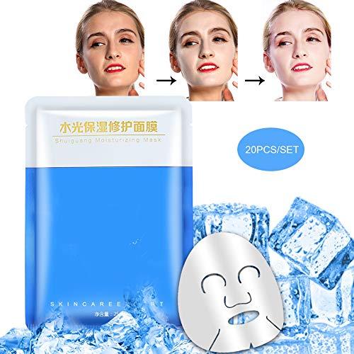 25ml  20pcs maschera idratante riparazione uso medico riparazione polipeptide maschera uso domestico