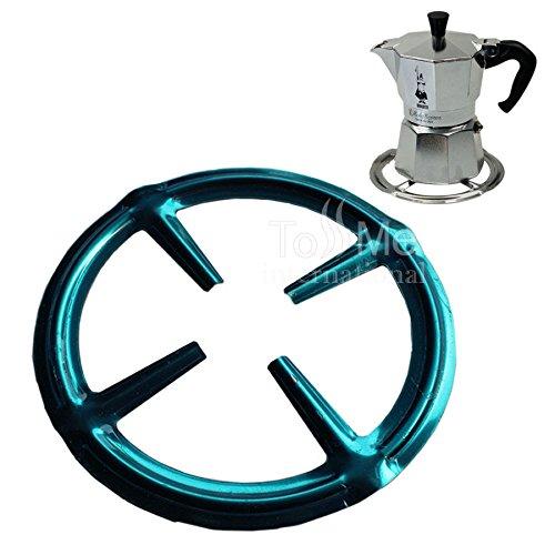 Acciaio inossidabile Anello di gas riduttore Trivet piano cottura piano cottura di calore Simmer Caffettiere Caffettiera Espresso Makers padelle utensile da cucina