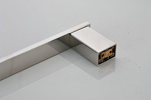 Acciaio Inox Porta Asciugamani per Bagno Cucina Montaggio a Muro 40cm Beelee BA8003SC40