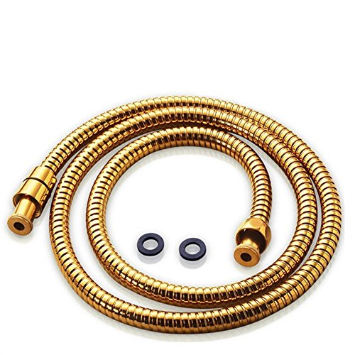 Acefy tubo doccia dorato per doccetta docciaflessibile doccia oro lunghezza 15M