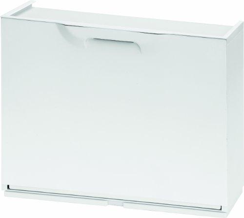 Art Plast U501W Scarpiera in Plastica Bianco