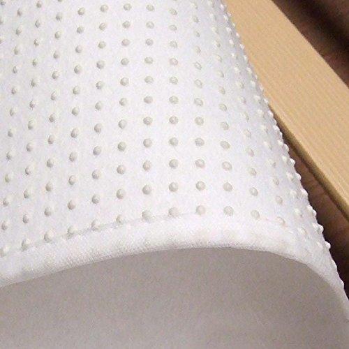 Beautissu Coprirete Singolo BEAUTECT  90x200 cm bianco  lavabile e con retro antiscivolo  traspirante e anti umidit  coprirete antiacaro e antipolvere  stabile e resistente