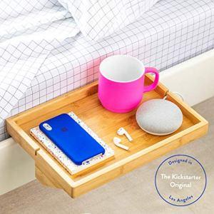 BedShelfie La mensola del Comodino Originale  3 Colori  2 Taglie  Come VISUALIZZATO Insider Aziendale Formato Normale bamb Naturale