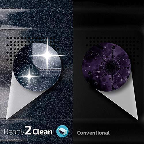 Cecotec  Microonde nero 20 L 6 livelli tecnologia 3DWave 700 W effetto specchio rivestimento Ready2Clean per una pulizia facile Allblack Mirror