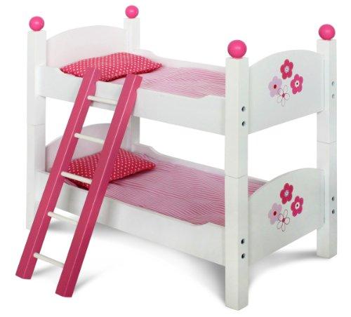 Chic 2000  Letto a Castello per Bambine Design Floreale