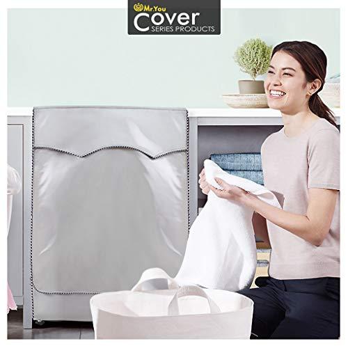 Copertura Lavatrice per Esterno per Le lavatrici  Asciugatrice Coprilavatrice di Spessore Migliore Performance di Crema Solare Antiultravioletti Impermeabile AntipolvereTela pi Spessa60x60x85cm