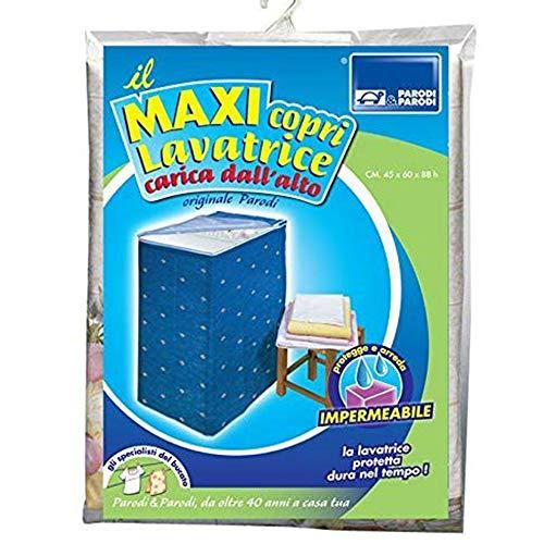 Coprilavatrice con carica dallalto coprilavatrice caricamento dallalto telo proteggi lavatrice coprilavatrice universale con cerniera in resistente PVC impermeabile colore blu art282